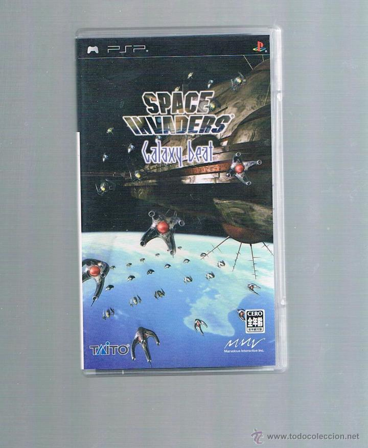 PSP SPACE INVADERS GALAXY BEAT- JAP (Juguetes - Videojuegos y Consolas - Sony - Psp)