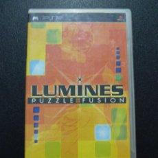 Videojuegos y Consolas: JUEGO PSP LUMINES PUZZLE FUSION. Lote 50707442