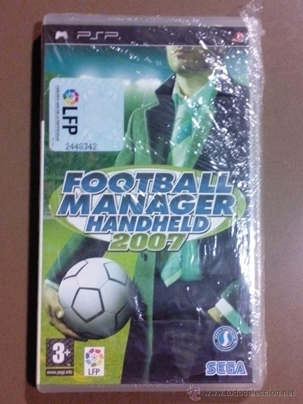 FOOTBALL MANAGER HANDHELD 2007. PSP. SEGA. LPF. NUEVO CON PRECINTO!!!! (Juguetes - Videojuegos y Consolas - Sony - Psp)