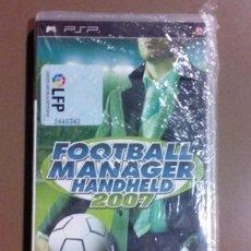 Videojuegos y Consolas: FOOTBALL MANAGER HANDHELD 2007. PSP. SEGA. LPF. NUEVO CON PRECINTO!!!!. Lote 51008824