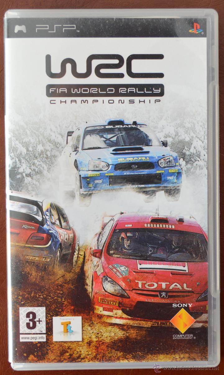 WRC FIA WORLD RALLY CHAMPIONSHIP PARA PSP. SONY UMD (Juguetes - Videojuegos y Consolas - Sony - Psp)
