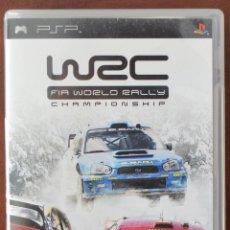Videojuegos y Consolas: WRC FIA WORLD RALLY CHAMPIONSHIP PARA PSP. SONY UMD. Lote 51122100