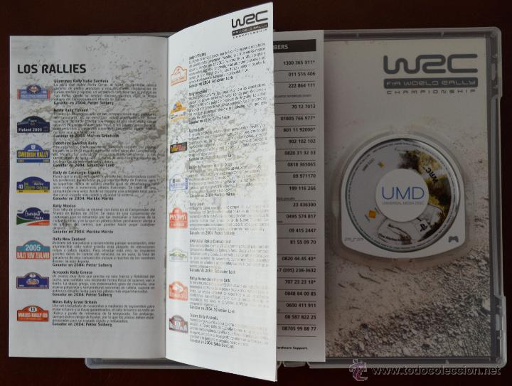 Videojuegos y Consolas: WRC FIA WORLD RALLY CHAMPIONSHIP PARA PSP. SONY UMDWRC FIA WORLD RALLY CHAMPIONSHIP PARA PSP. SONY UMD - Foto 4 - 51122100