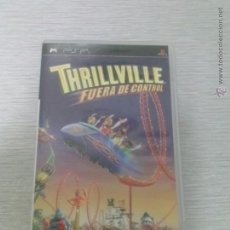 Videojuegos y Consolas: JUEGO PSP THRILLVILE - FUERA DE CONTROL - COMPLETO. Lote 51202551