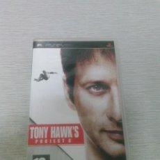 Videojuegos y Consolas: JUEGO PSP TONY HAWK'S PROJECT 8 - COMPLETO. Lote 51202572