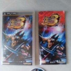 Videojuegos y Consolas: PSP MONSTER HUNTER PORTABLE 3 3RD JAPONES JAP. Lote 102607390