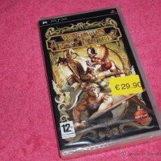 Videojuegos y Consolas: JUEGO PARA SONY PSP WARRIORS OF THE LOST EMPIRE NUEVO Y PRECINTADO PAL ESPAÑA. Lote 52100796