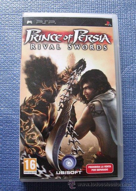 JUEGO PRINCE OF PERSIA. RIVAL SWORDS - PLAYSTATION (PSP) (Juguetes - Videojuegos y Consolas - Sony - Psp)