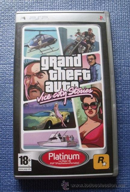 Juego Gta Vice City Stories Playstation Psp Comprar
