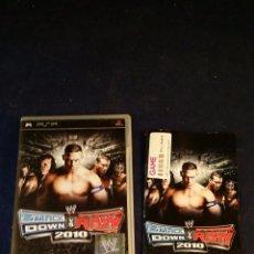 Videojuegos y Consolas: JUEGO PSP - SAMCK DOWN VS RAW 2010. Lote 53355210