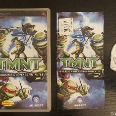 Videojuegos y Consolas: JUEGO PSP TMNT TORTUGAS NINJA JOVENES MUTANTES. Lote 54081121