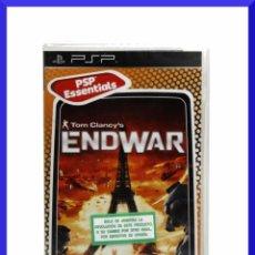 Videojuegos y Consolas: PSP TOM CLANCYS ENDWAR - PAL ESP - NUEVO Y PRECINTADO. Lote 44050812