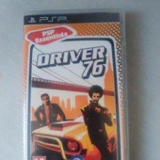 Videojuegos y Consolas: DRIVER 76 JUEGO SONY PSP VERSION ESPAÑA. Lote 54666940