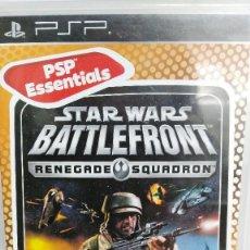 Videojuegos y Consolas: JUEGO PSP STAR WARS BATTLEFRONT EN CASTELLANO CON INSTRUCCIONES. Lote 55938218