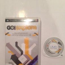 Videojuegos y Consolas: JUEGO DE PSP GO! EXPLORE CON MANUAL DE INSTRUCCIONES (SOLO ES EL PROGRAMA). Lote 56274509