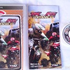 Videojuegos y Consolas: JUEGO COMPLETO MX VS ATV UNTAMED SONY PSP PLAYSTATION PORTABLE PAL ESPAÑA . Lote 57117014