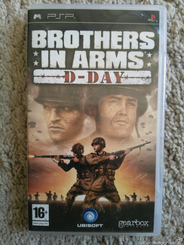 Brothers In Arms D Day Juego Psp Buy Video Games And Consoles Psp At Todocoleccion 57343431