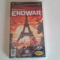 Videojuegos y Consolas: ENDWAR TOM CLANCY´S CLANCYS MAX NUEVO SONY PSP PAL ESPAÑA.PRECINTADO. Lote 57401885