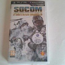 Videojuegos y Consolas: JUEGO SOCOM FIRETEAM BRAVO 3 NUEVO SONY PSP PAL ESPAÑA.PRECINTADO. Lote 57402125