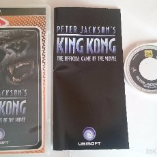 Videojuegos y Consolas: JUEGO COMPLETO KING KONG PETER JACKSON´S THE OFFICIAL GAME SONY PSP PAL ESPAÑA.. Lote 57407078