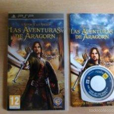 Videojuegos y Consolas: PSP - LAS AVENTURAS DE ARAGORN. Lote 57588084
