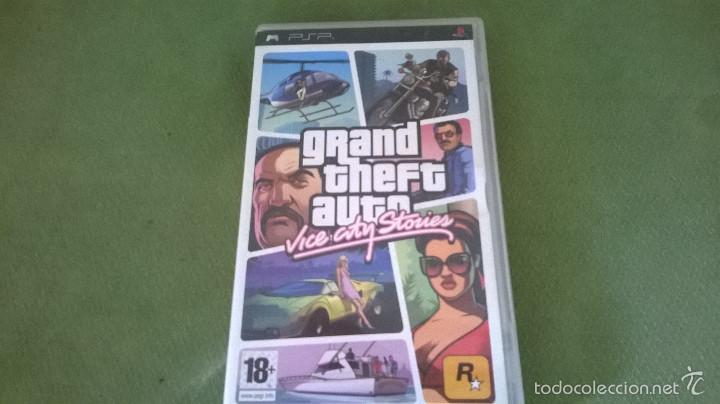 GRAND THEFT AUTO (Juguetes - Videojuegos y Consolas - Sony - Psp)
