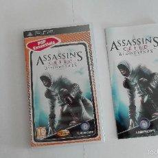 Videojuegos y Consolas: PSP ASSASSIN'S CREED BLOODLINES ESPAÑOL. Lote 58256525