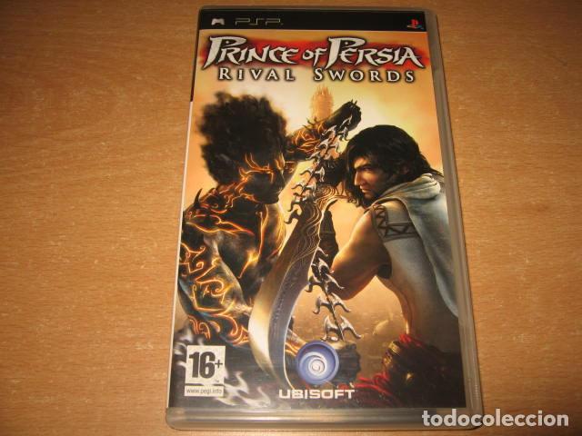 PRINCE OF PERSIA RIVAL SWORDS PSP PAL ESPAÑA COMPLETO - UBISOFT (Juguetes - Videojuegos y Consolas - Sony - Psp)