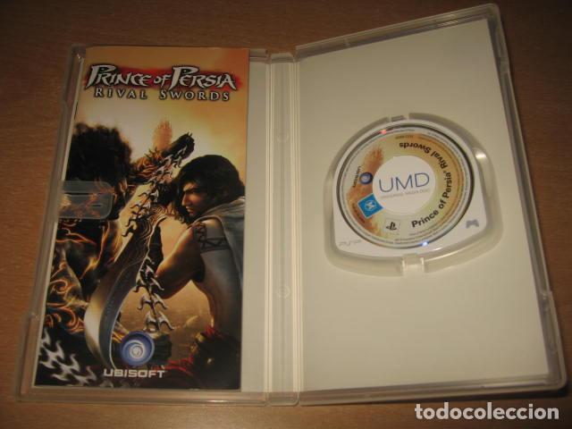 Videojuegos y Consolas: PRINCE OF PERSIA RIVAL SWORDS PSP PAL ESPAÑA COMPLETO - UBISOFT - Foto 3 - 61891652
