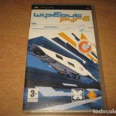 Videojuegos y Consolas: WIPEOUT PURE PSP PAL ESPAÑA COMPLETO. Lote 61897192