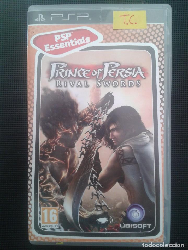 PRINCE OF PERSIA RIVAL SWORDS. PSP (Juguetes - Videojuegos y Consolas - Sony - Psp)