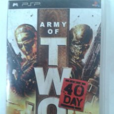 Videojuegos y Consolas: ARMY OF TWO 40 DAY. PSP. Lote 62393796