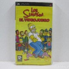 Videojuegos y Consolas: LOS SIMPSON EL VIDEOJUEGO SONY PSP. Lote 65689406