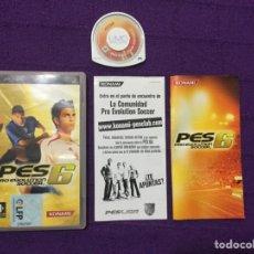 Videojuegos y Consolas: PRO EVOLUTION SOCCER 6 - PSP - SONY - PLAYSTATION KONAMI - LFP - PES6. Lote 68117183