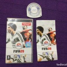 Videojuegos y Consolas: FIFA 09 - PSP - SONY - PLAYSTATION - LFP - FIFA09 FIFA 2009. Lote 68117469
