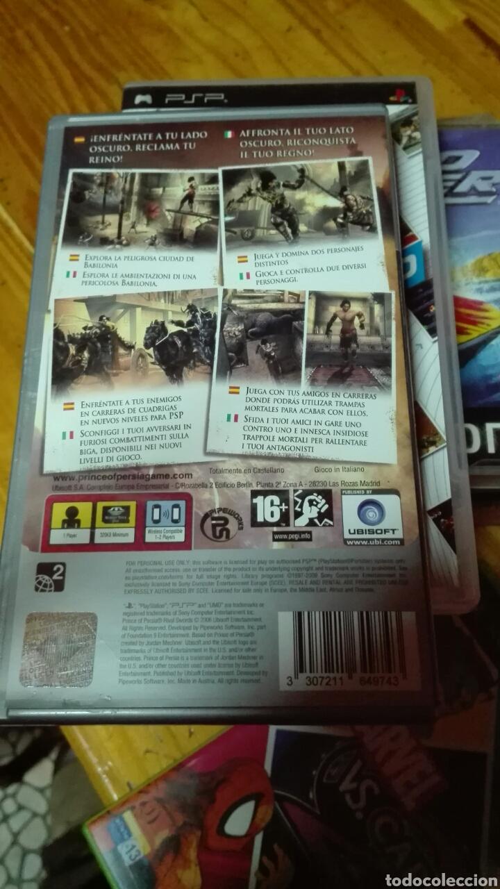 Videojuegos y Consolas: Prince of persia rival swords psp - Foto 2 - 72683017