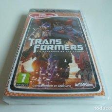 Videojuegos y Consolas: TRANSFORMERS - LA VENGANZA DE LOS CAÍDOS (PRECINTADO) PSP. Lote 73471495