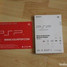 Videojuegos y Consolas: MANUAL DE INSTRUCCIONES PSP-1004 SONY. Lote 73497775