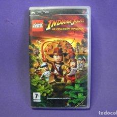 Videojuegos y Consolas: JUEGO PSP LEGO TRILOGIA INDIANA JONES. Lote 75624611