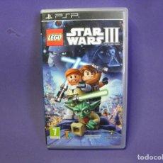 Videojuegos y Consolas: JUEGO PSP LEGO STAR WARS III . Lote 75625179