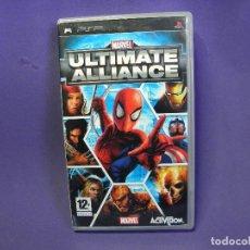 Videojuegos y Consolas: JUEGO PSP ULTIMATE ALLIANCE MARVEL. Lote 75625567