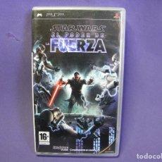 Videojuegos y Consolas: JUEGO PSP STAR WARS EL PODER DE LA FUERZA. Lote 75626863