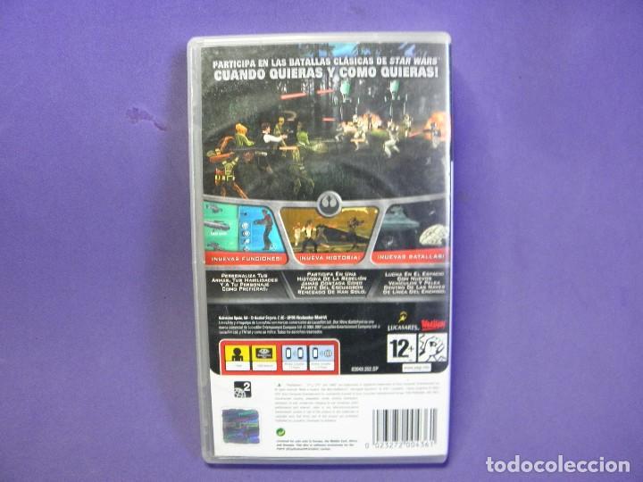 Videojuegos y Consolas: JUEGO PSP STAR WARS BATTLEFRONT RENEGADE SQUADRON - Foto 2 - 75627023