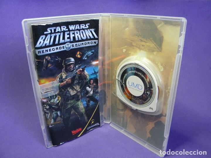 Videojuegos y Consolas: JUEGO PSP STAR WARS BATTLEFRONT RENEGADE SQUADRON - Foto 3 - 75627023
