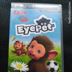 Videojuegos y Consolas: EYEPET PARA PSP. Lote 75936263