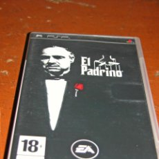 Videojuegos y Consolas: VIDEOJUEGO EL PADRINO PARA SONY PSP.. Lote 76763391