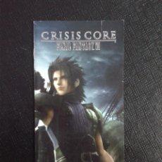 Videojuegos y Consolas: FINAL FANTASY VII CRISIS CORE. Lote 79329845
