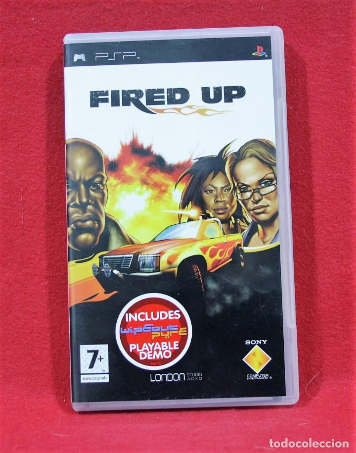FIRED UP (Juguetes - Videojuegos y Consolas - Sony - Psp)