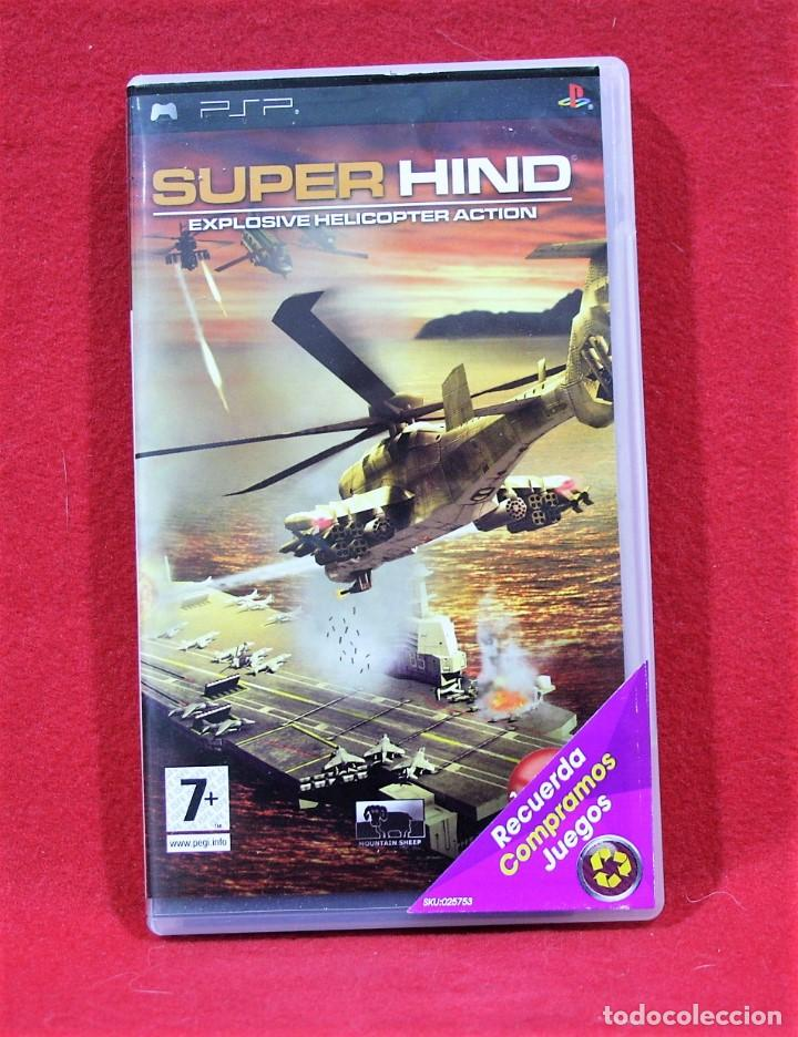 SUPER HIND (Juguetes - Videojuegos y Consolas - Sony - Psp)