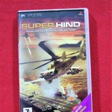 Videojuegos y Consolas: SUPER HIND. Lote 80231229